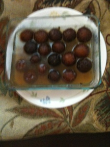 Gulab jamuns - I made them!
